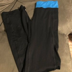 Champion Black And Blue Yoga Pants Size XS